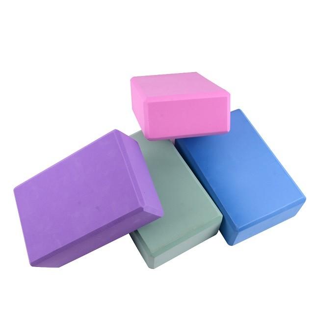 Yoga Block Foam Foaming Brick Stretch Aid Health Fitness Pilates Exercise Gym Equipment Wholesale
