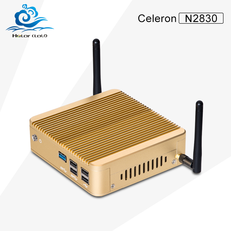 HLY Barebone Diy Computer Dual core PC N2830 Celeron PC 2.16GHz Computer New Arrival High Performance Industrial PC <br><br>Aliexpress