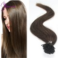 1g/strand Micro Ring Loop Hair Extensions Brazilian Virgin Remy Human Hair 18″20″22″24″ 45-60cm 12colors available