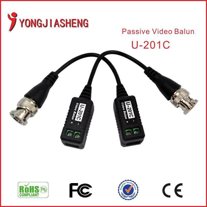 CCTV camera BNC UTP Security Twisted Passive Video Balun Transivers/connector cctv balun video Transmitter accessories 30PCS(China (Mainland))