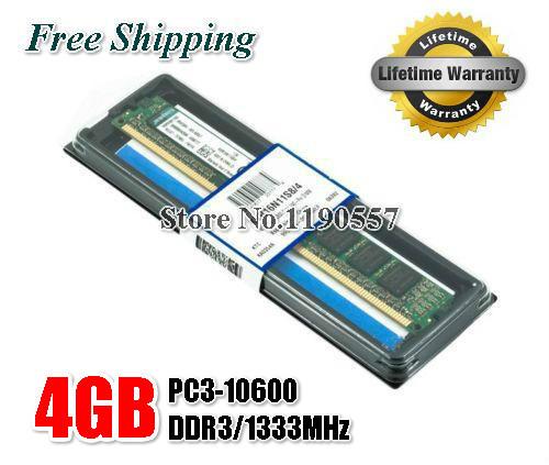DDR3 4GB 8GB 1333Mhz 1600MHz Brand New Desktop Ram Memory for Desktop RAM Memory + Free Shipping(China (Mainland))