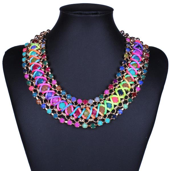 Изысканные ювелирные изделия ожерелья и подвески новое поступление чешского стиль ожерелья горячих сбываний шикарных Jewerly ожерелье для лучший подарок