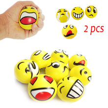 Smiley Ball Smiley Stress Ball Smiley Smash it Squeeze Ball Anti Reliever Autism Squeeze Toys Random Hand Exercise(China (Mainland))
