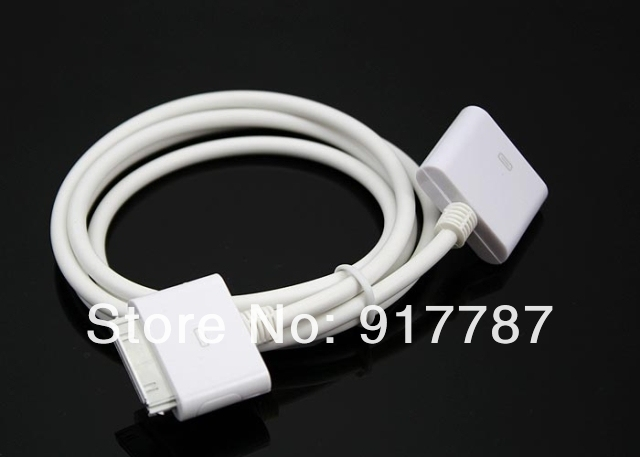 2 in 1 19 pin 3 FT Ultra High Speed HDMI Cable Ethernet + charger extension for iphone 4 4s 1080P VGA Cable for ipod  ipad 1 2 3
