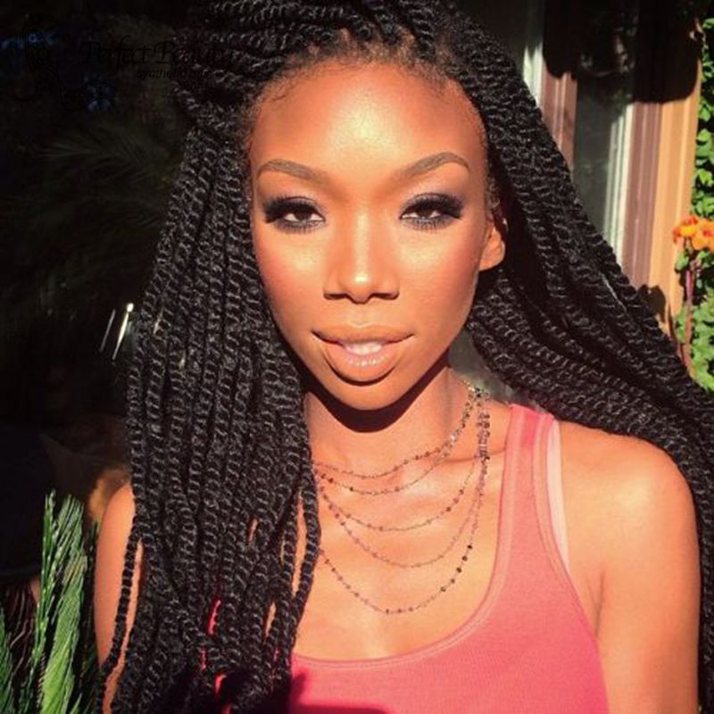 Long Small Senegalese Twists | www.imgkid.com - The Image