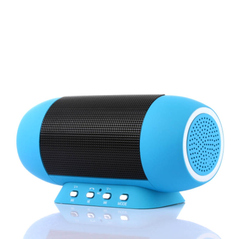 Wireless Portable Audio Player Surround Mini Loudspeaker Subwoofer LED Light Speaker Music MP3 Play For Samsung Galaxy Xiaomi2 4(China (Mainland))