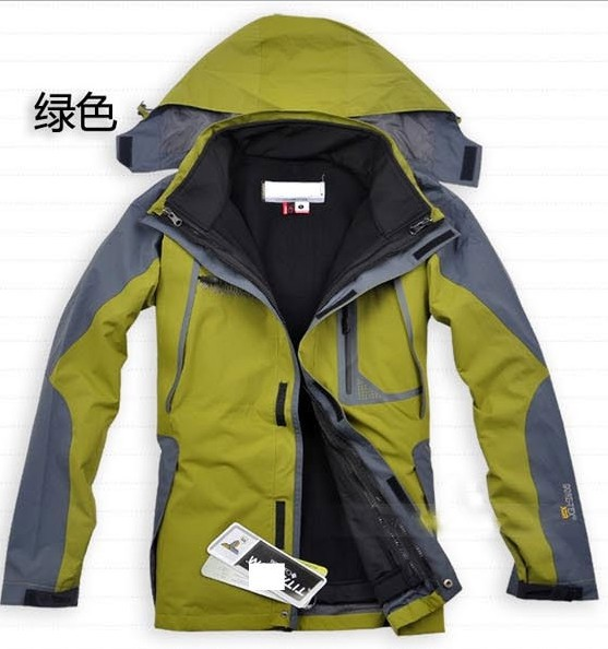 , men's windproof, rainproof outdoor jacket keep warm, 2 1, 6 color - Online Store 214194 store