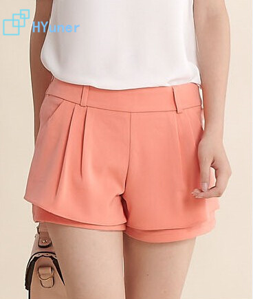 Good-quality New 2015 Autumn Summer Nylon Concise Black Comfortable Spring Casual Cotton Fashion Women Shorts - HYUNER Technology Limited Company store