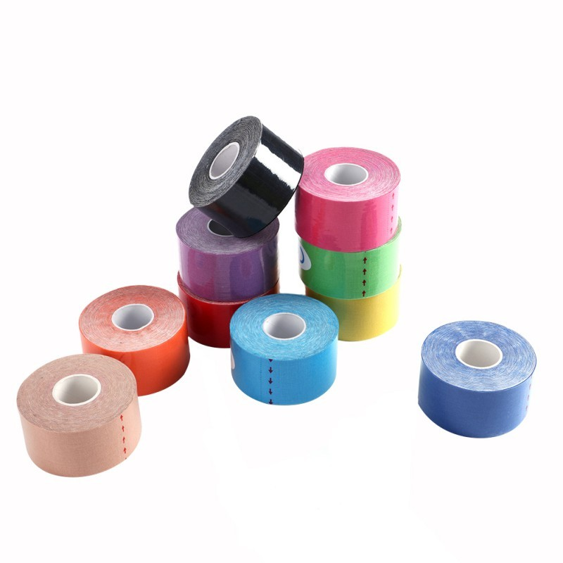 New 3.8cm Kinesiology Tape Athletic Muscle Support Physio Strapping Band Sports Taping with 10 colors