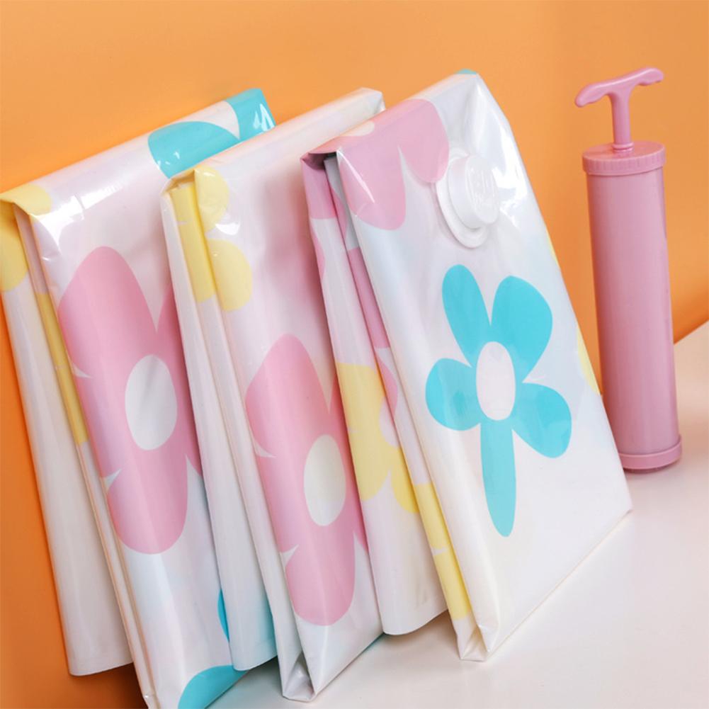 11pcs/set Thickened Vacuum Storage Bag Vacuum Compressed Bag with Hand Pump Reusable Blanket Clothes Quilt Storage Bag Organizer(China (Mainland))