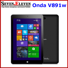 "Original Onda V891w dual boot Windows 8.1 OS Android 4.4 tablet pc Intel Z3735 Quad Core 2GB RAM 64GB ROM 5.0MP WIFI 8.9"" IPS(China (Mainland))"