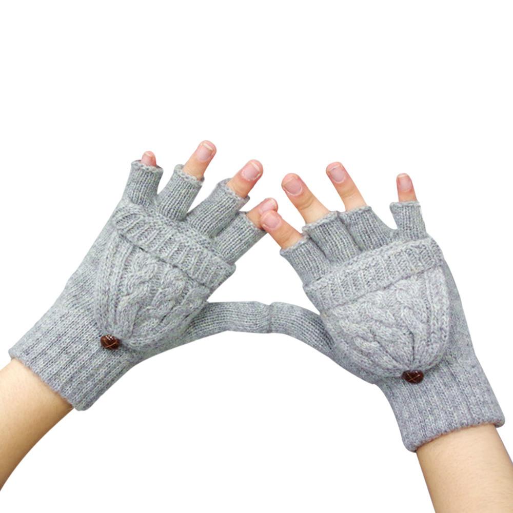 зимние варежки-перчатки