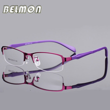 Eyeglasses Frame Women Computer Optical Eye Glasses Spectacle Frame For Women's Transparent Lens Female Armacao Oculos de RS275