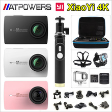 "Original Xiaomi YI 4K Action Camera 2 II 2.19"" Retina Screen Ambarella A9SE75 XiaoYi 2 Sport DV International Edition(China (Mainland))"