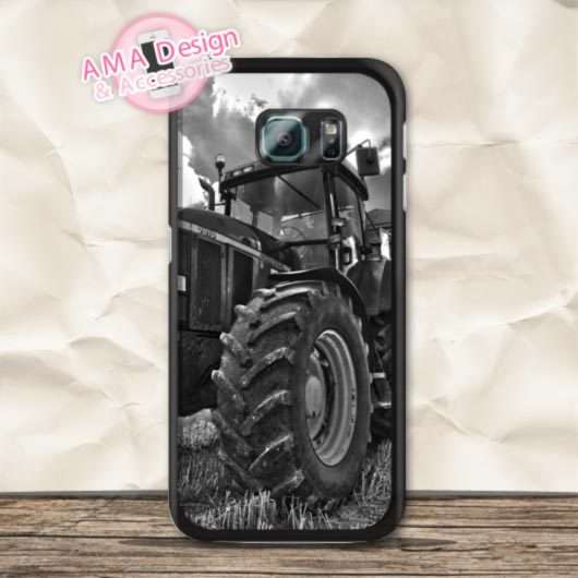 Big Farm Tractor John Deere Durable Hard Case For Galaxy S6 S5 active S4 mini S3 Ace Win A3 A5 A7 Core 2 Note 4 3(China (Mainland))