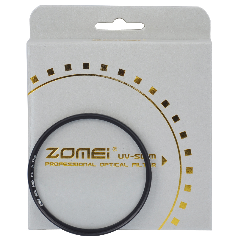 Costs-effective ZOMEI Digital camera lens UV 58mm Slim Frame Protector filter(China (Mainland))