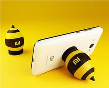 Free Shipping Original Xiaomi silicone holders bee mobile phone holders sucker stands for all cell phone tablets holders phone(China (Mainland))