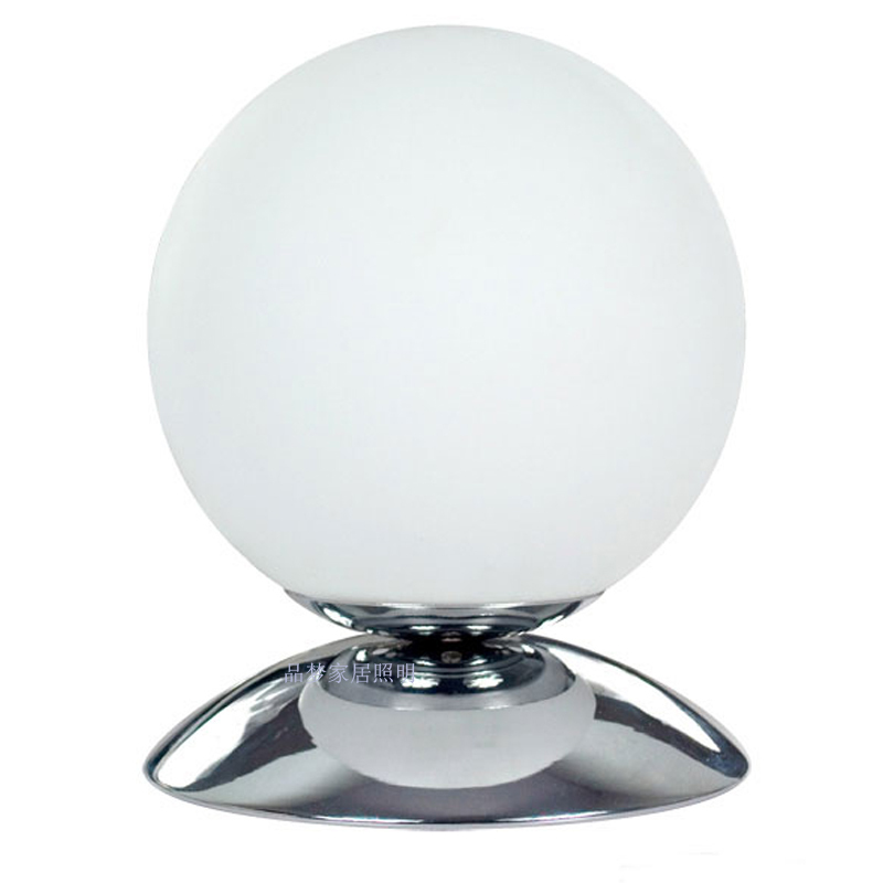 For dec oration table lamp bedroom bedside lamp modern brief touch sensor dimming lights ball lamp(China (Mainland))