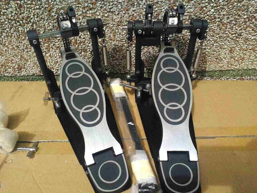 free shipping drum set double pedal good price(China (Mainland))
