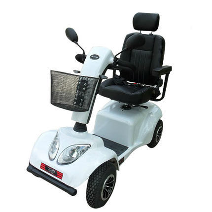 4028 Granville luxury four-wheel electric wheelchair group home for the elderly disabled scooter simple and easy to operate(China (Mainland))