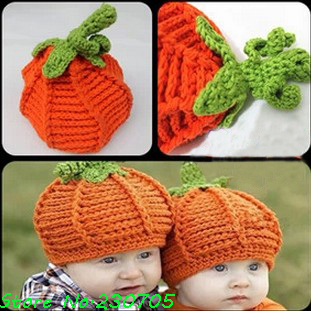 Free Crochet Patterns For Baby Halloween Costumes : Children-s-Clothing-Baby-Halloween-Pumpkin-Hat-Knitted ...