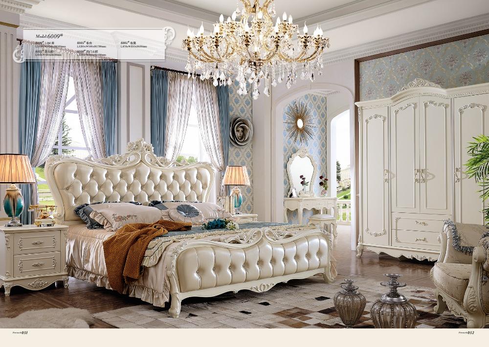 Franse Slaapkamer Meubels : Carved Bedroom Furniture