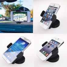 High quality practical gadgets 360 Degree Car Mount Windshield Cradle Holder Stand for Apple iPhone 4 4S Mobile Phone