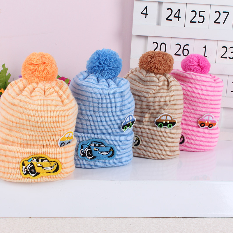 New hot Autumn and winter baby hat baby hat newborn cap tire bear pocket hat line super-soft fleece baby hat free shipping<br><br>Aliexpress