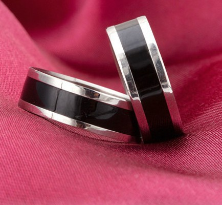 2014 New Enamel Jewelry Mens Rings Stainless Steel Fahion Jewelry Trendy Rings Wholesale XY R41