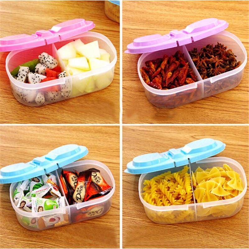 Multi-function Kitchen Food Grains Sealed Cans Kitchen Refrigerator Storage Box Plastic Storage storage bins free shipping(China (Mainland))