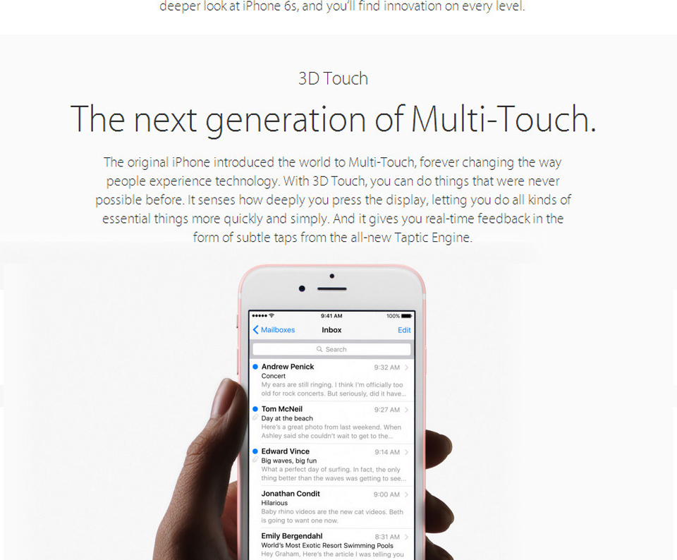 "Original Apple iPhone 6S Plus Dual Core Mobile phone 5.5"" 12.0MP 2G RAM 16/64/128G ROM LTE Smartphone"
