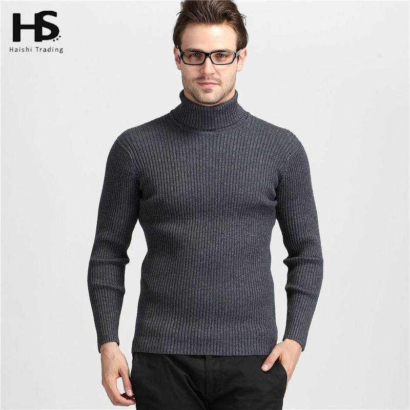 Мужской пуловер 2016 100% Slim Fit