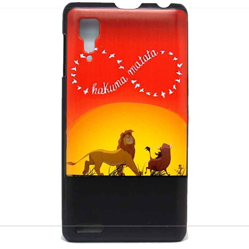 Lenovo P780 case Original Color Space Tiger Pattern Skin Custom Printed Hard Plastic Protective Phone Case Cover - ShoppingCenter store