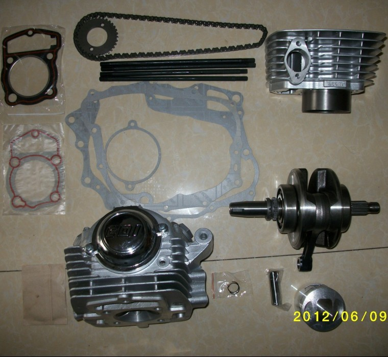 Free shipping, Motorcycle refit cb 125 150 electric engine 200cc(China (Mainland))