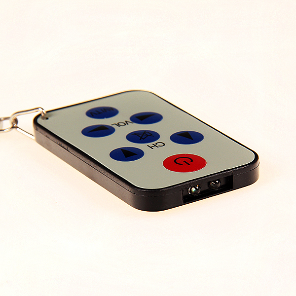 New Universal Infrared IR Mini TV Set Remote Control Keychain Key Ring 7 Keys High Quality(China (Mainland))