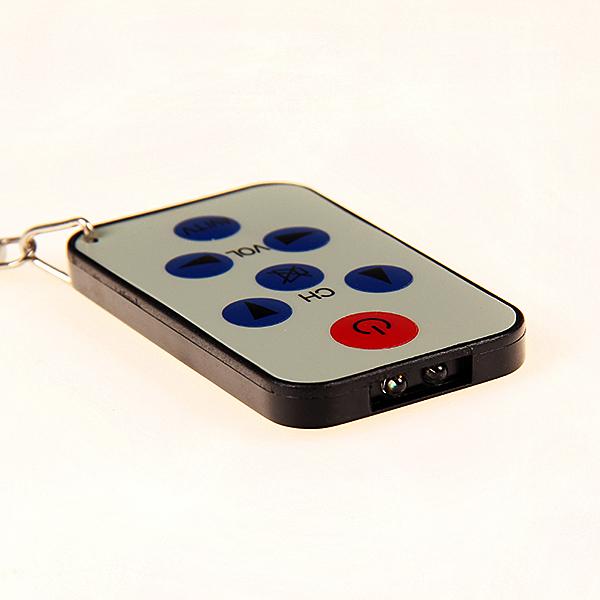 New Universal Infrared IR Mini TV Set Remote Control Keychain Key Ring 7 Keys High Quality(China (Mainland))