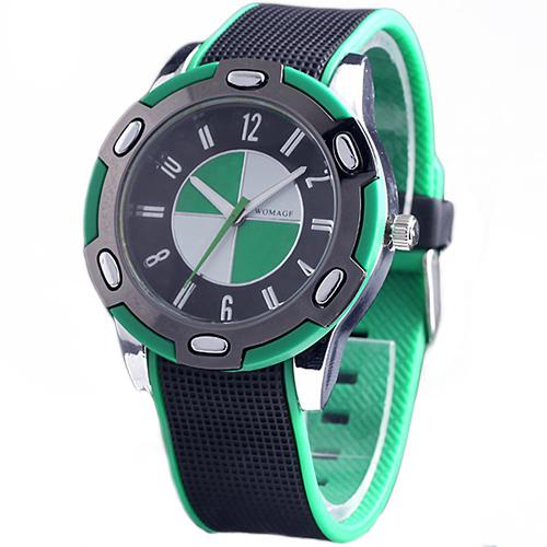 2015 New Casual Luxury Rubber Men Women Stylish Wrist Quartz Watch Nice Sports Wristwatch More Colors