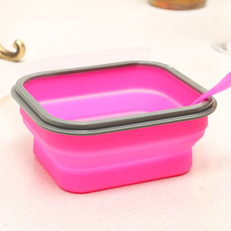 small collapsible lunch box microwave safe leak proof. Black Bedroom Furniture Sets. Home Design Ideas