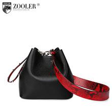 Zooler натуральная кожа женская сумка-мешок роскошные пляжные Crossbody сумки для женщин 2017 Натуральная кожа Tote сумки на плечо organizerS111(China)