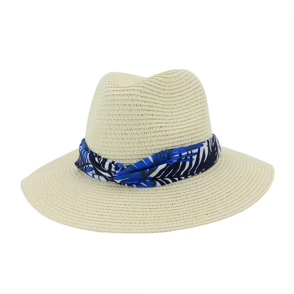 cream straw hat