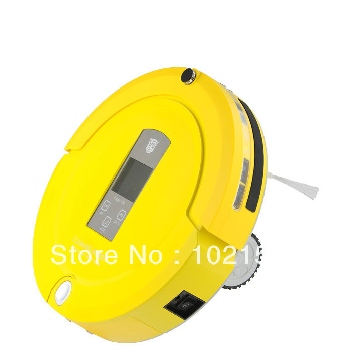 Multifunction Robot Vacuum Cleaner (Sweep,Vacuum,Mop,Sterilize) A325 Intelligent Robotic Cleaner(China (Mainland))