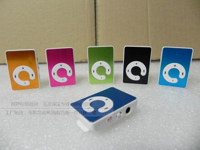 Mp3 card small clip mp3 ram card mp3 belt clip aluminum webcasts memory  free shipping
