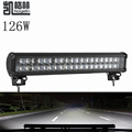 Car styling 22 Inch 4D 126W LED Work Light Bar Spot Flood Combo Beam 12 24v