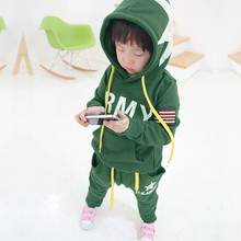 Retail boys clothing sets children's suits autumn winter long-sleeved sport suit baby kids clothes free shipping 31(China (Mainland))