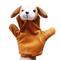 Cute Big Size Animal Glove Puppet Hand Dolls Plush Toy baby kid Zoo Farm Animal Hand