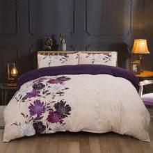 LOVINSUNSHINE Comforter Bedding Sets Duvet Cover Queen King Size Home Textile Flower Print Bedding And Bed Sets AB#118(China)
