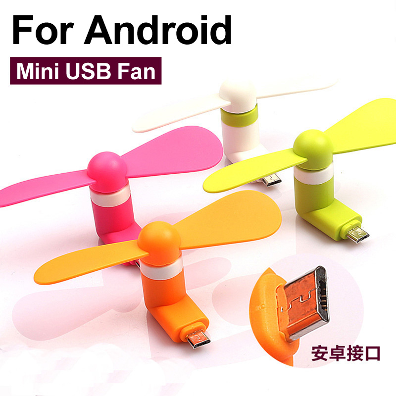 New Portable OTG Mini Micro USB Large Wind Cooling Fan For Samsung Huawei Andriod Cell Phone Cooler Fan(China (Mainland))