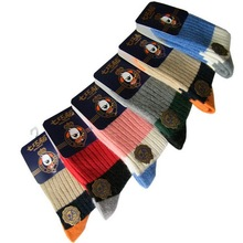 2016 New Arrival Baby Kids Woolen Thick Socks 5 Pairs/Lot Winter Socks for Children 1-15 Years Boys & Girls Thermal Socks, HI028(China (Mainland))