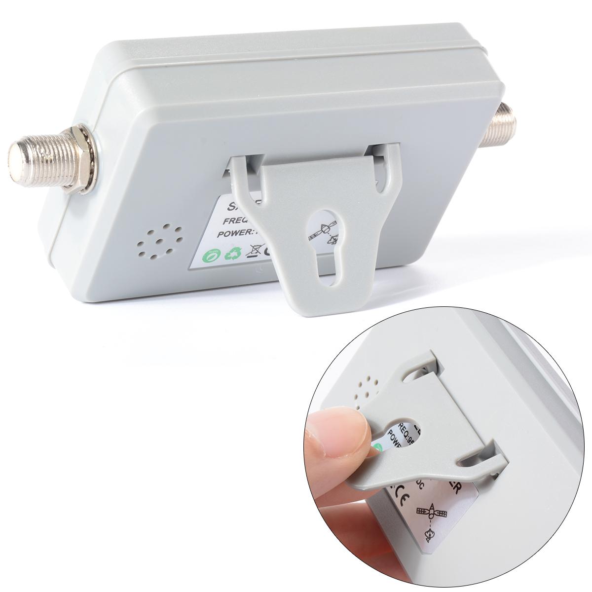 WS-6903 DVB-S FTA Satellite Signal Finder sat Meter LCD TV Dish DirecTV 13-18V BI017+(China (Mainland))