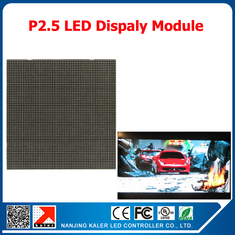 64*64 pixel 160*160mm P2.5 full color led display module indoor rgb led modules for indoor video wall(China (Mainland))